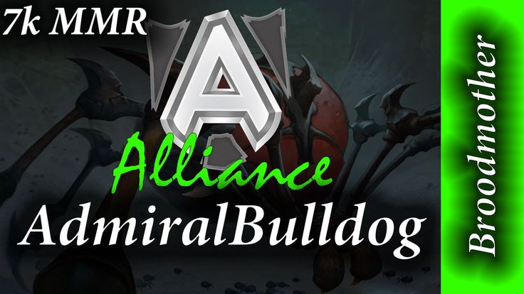 "Alliance AdmiralBulldog is playing Broodmother in a 7K MMR matchup. Its a full game of Dota 2. Henrik ""AdmiralBulldog"" Ahnberg is a professional Dota 2 playe..."