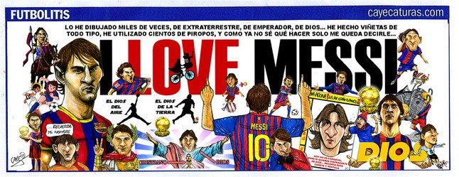 oh yeah! Love it or Adore it! Messi number  1