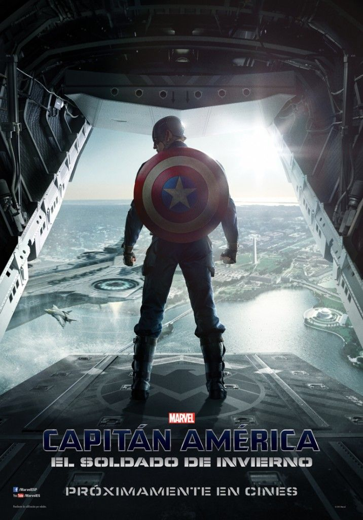 """Nuevo poster de """"Capitán América 2: El Soldado de Invierno"""""""