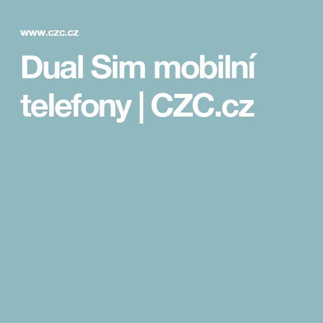 Dual Sim mobilní telefony | CZC.cz