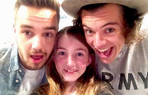 Harry Styles And Fan Selfie