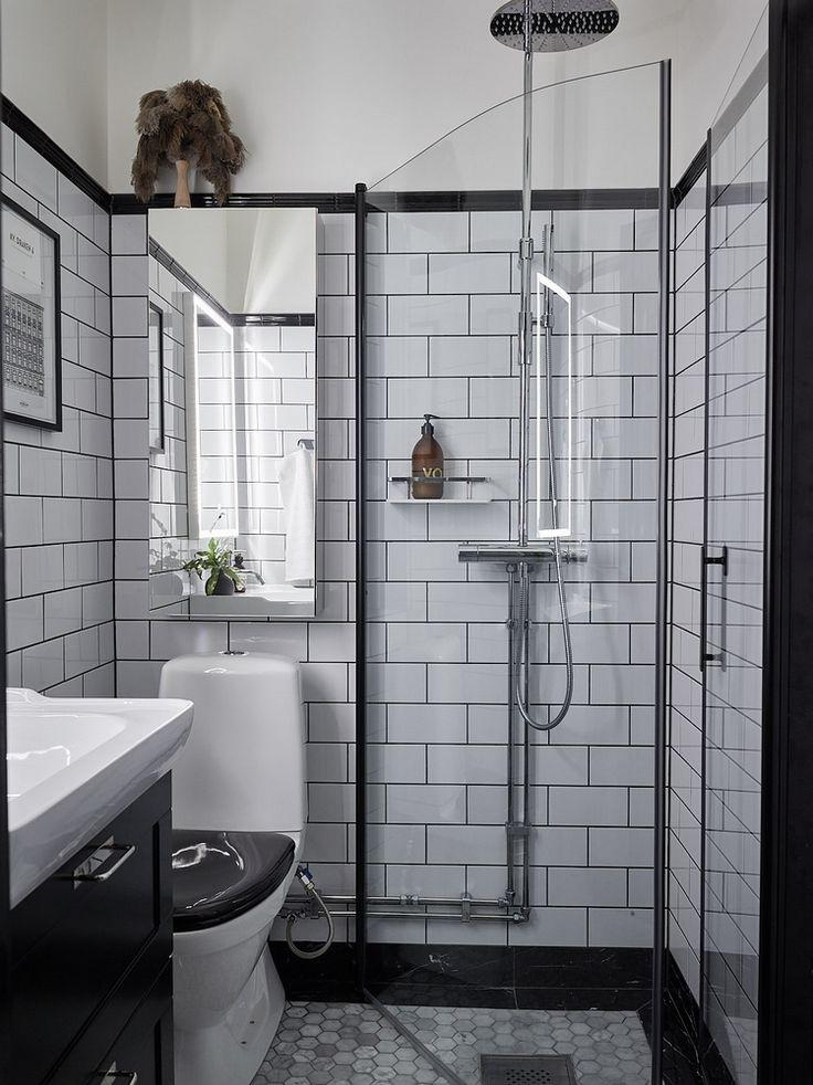 Sur les murs gris salle de bains salle d 39 eau for Decoration sur les murs