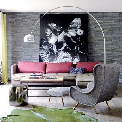 """""""Lady"""" chair designed in 1951 by Marco Zanusso for Arflex"""