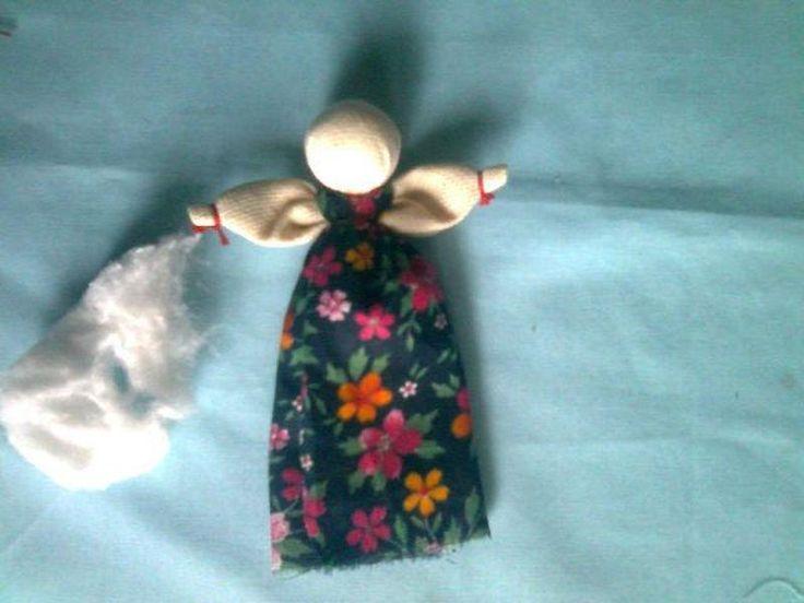 Кукла Бабка-Ёжка. Мастер-класс Тамары Черныш. Севастополь,Украина