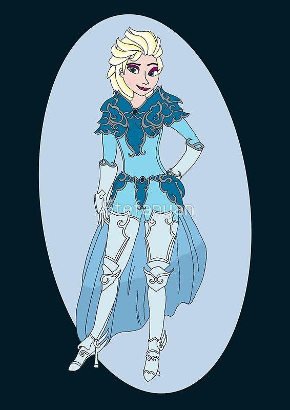 Warrior Elsa