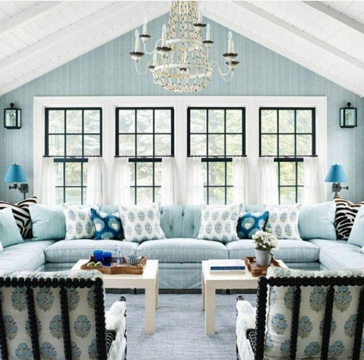 24 calm coastal paint colors ideas turquoise living room on living room color ideas id=41712