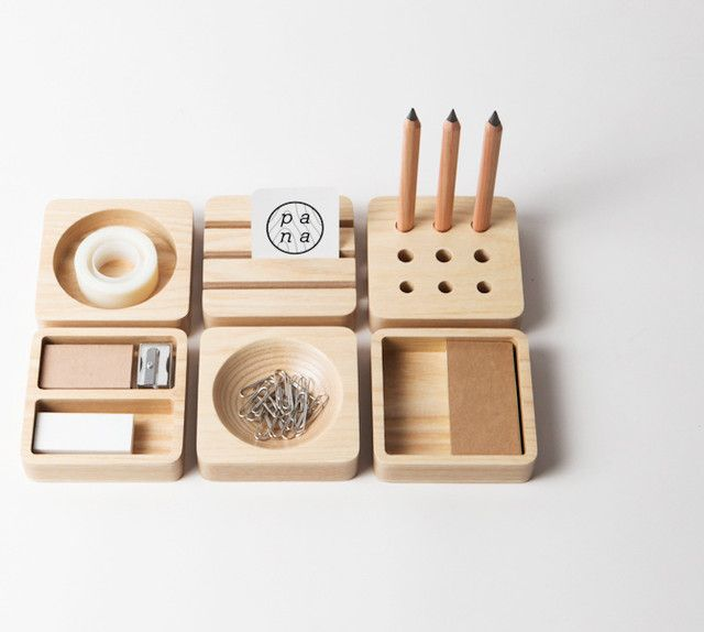 Tofu Set By Pana Objects X Cute Wooden Office Stationary So Simple And Sweet Get On My Desk