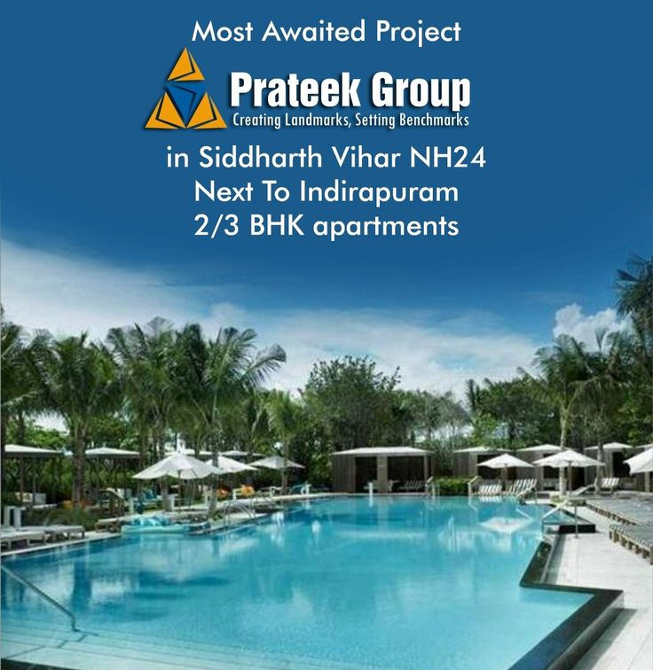 Prateek Grand City is the prelaunch residential project at Siddharth Vihar Next to indirapuram offers 2 and 3 bhk ultra luxury apartments at affordable price. http://www.prateek-nh24-grandcity.in
