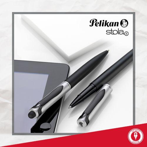 Tatil yolunda ideal bir yol arkadaşı: Pelikan Stola II. O yalnızca bir tükenmez kalem değil, akıllı telefon ve tabletinizde de rahatlıkla kullanabileceğiniz fonksiyonel bir araç! www.gumuskalem.com.tr