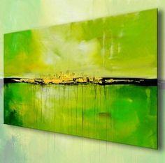 BRATIS  /  Acryl Bilder Gemälde Kunst abstrakt 580