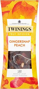 Buy Twinings Gingersnap & Peach Tea Bags (15) online in Tesco at mySupermarket