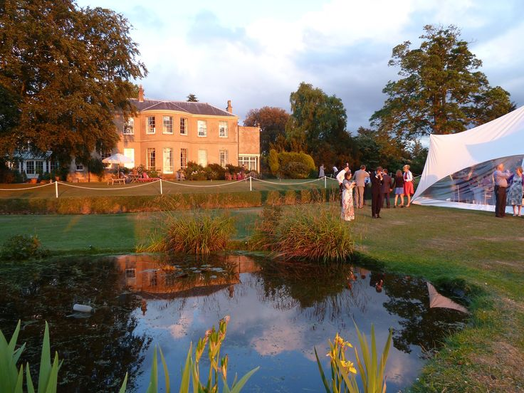 Weddings at East Bridgford Hill - Sunset views across the valley