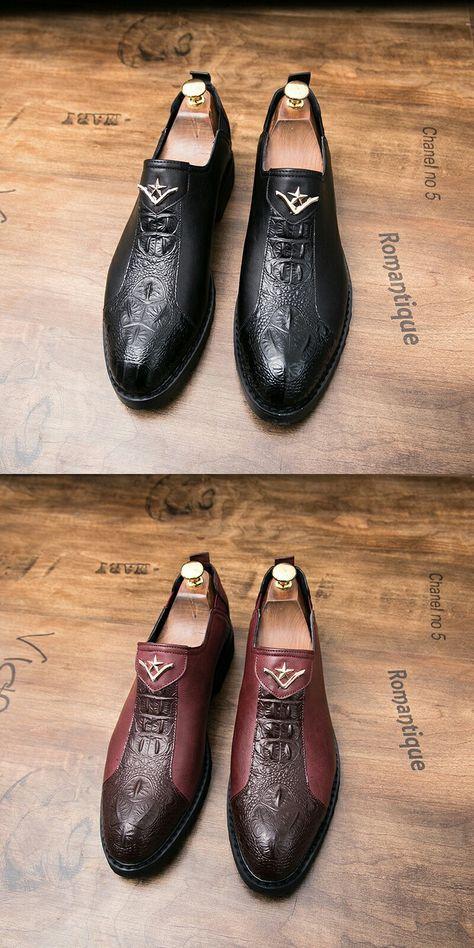 933c00ea5d60f US $27.6 Prelesty New Classic Elegant Italian Men Loafer Formal Dress  Wedding Shoes Luxury Style