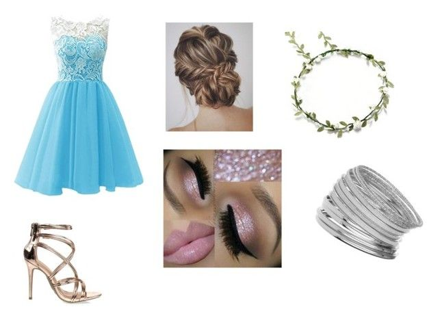 """""""bridesmaid"""" by julle2003 on Polyvore featuring Anne Michelle and Miss Selfridge"""