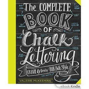 The 14 best books images on pinterest book covers letters and amazon ebooks kindle the complete book of chalk lettering create fandeluxe Image collections