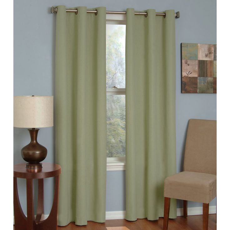Amazon.com - Eclipse Thermaback Microfiber Grommet Blackout Window ...