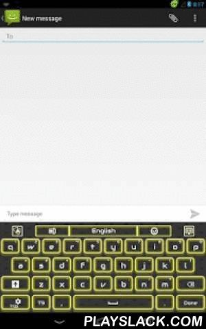 GO Keyboard Yellow Flame  Android App - playslack.com , Are you a dynamic person who wants to be active all the time? This New GO Keyboard Yellow Flame theme will brighten up your keyboard and will bring you straight where the action is. The yellow flames will make your keyboard shine and your smartphone will be very stylish and cool. The shades of electric yellow and the shiny letters, together with those bright lines will give you all the energy you will ever need. Customize your keyboard…