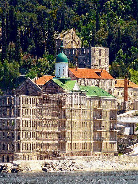 Saint Panteleimon Monastery, Mount Athos   by snk-64 via Flickr
