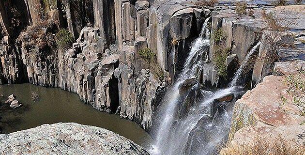 La Concepcion waterfall. Aculco, Mexico, Mexico