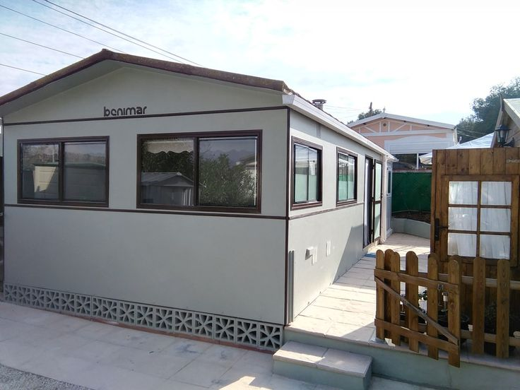 Benimar Static Caravan With Guest House Refurbished To The Highest Standard On Camping Benidorm Park Costa Blanca Spain