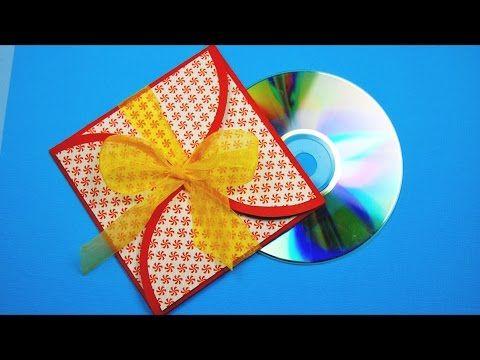 КОНВЕРТ ДЛЯ CD своими руками. DIY CD case. - YouTube