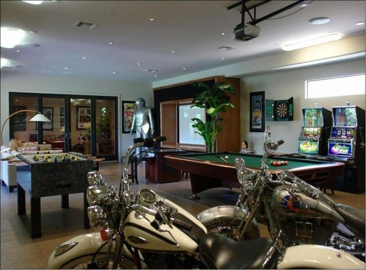 10 Of The Most Fun Garage Game Room Ideas Part 14