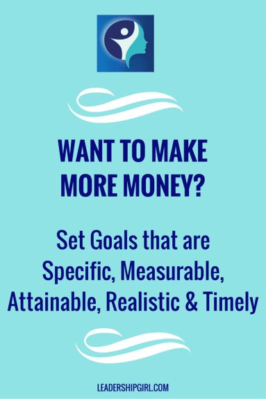 Did you set business goals for 2016? Want to Make More Money?  Set Goals that are SMART: Specific, Measurable, Attainable, Realistic, and Timely!