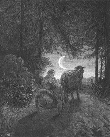 Gustave Dore Fairy Tales | Gustave Dore's Donkeyskin