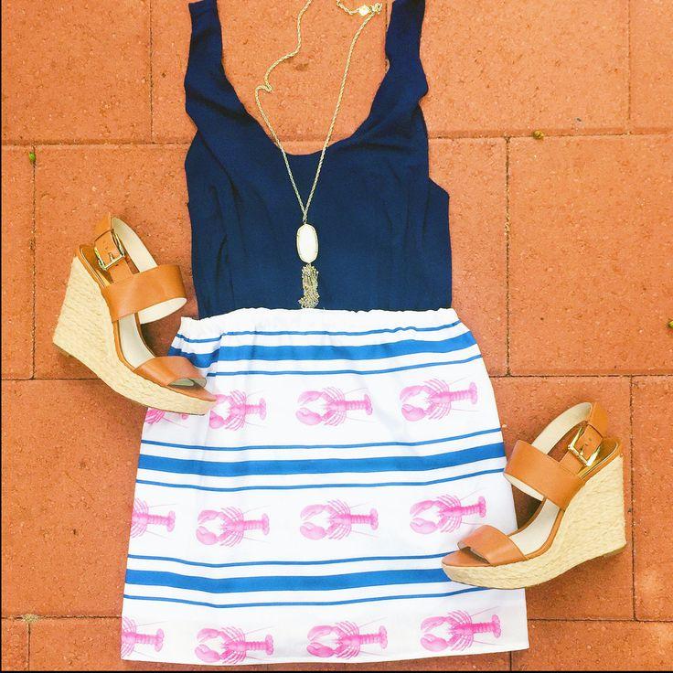 Maritime Dream - love this lobster skirt!