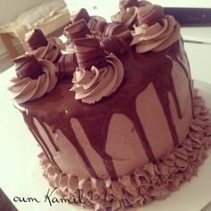 Layer Cake Kinder Bueno - Mon premier Layer cake