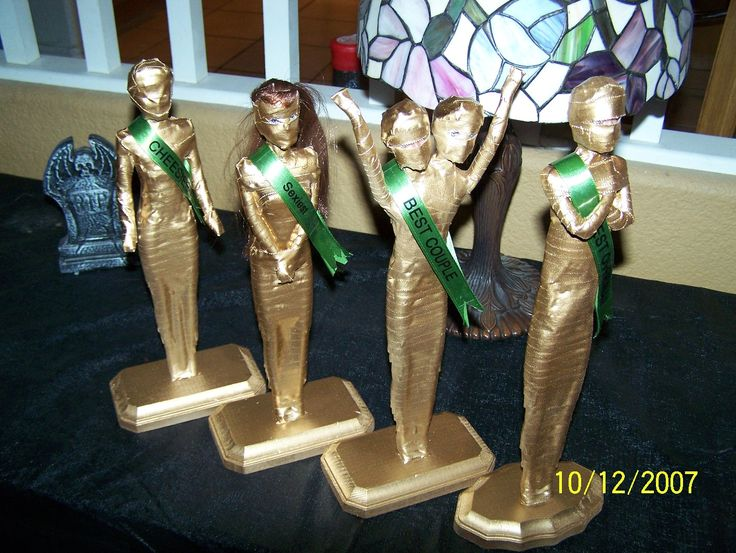 Costume contest categories