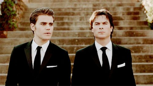 TVD Damon and Stefan Salvatore