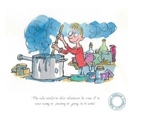 Roald Dahl   George's Marvellous Medicine   Illustrated by the amazing Quentin Blake.