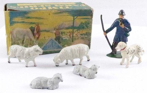 Timpo Farm Series boxed sheep herding set
