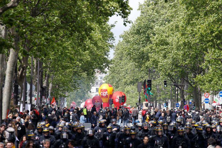 Manifestation 1er mai Paris 4