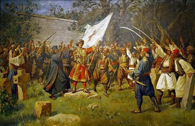 Takovski Ustanak  Paja Jovanovic (1859-1957)