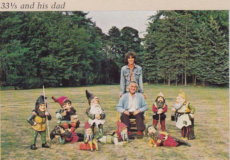 George Harrison and his dad, Harold Harrison