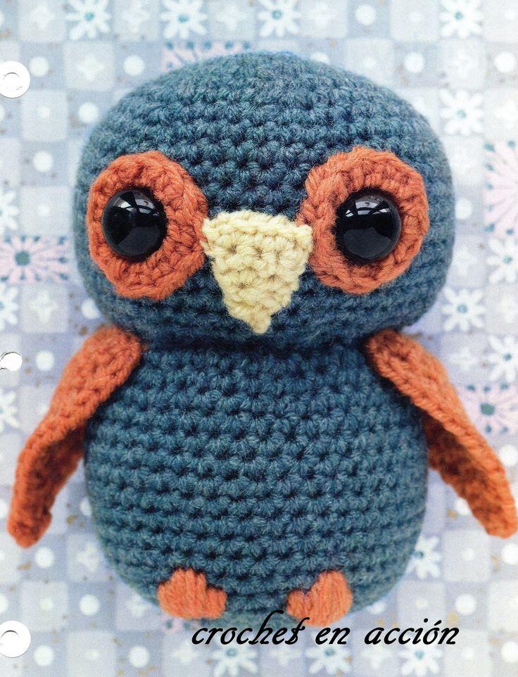 Crochet En Acción: El pequeño buho