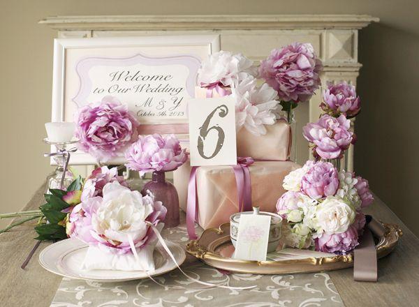 画像 : 【ウェディング】ピンクのおしゃれなテーブルコーディネート・装花集【結婚式】 - NAVER まとめ
