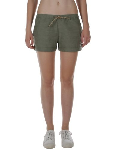 Chambray Girl Short [olive] // IRIEDAILY Spring Summer 2015 Collection! - OUT NOW! // BOTTOMS - WOMEN: http://www.iriedaily.de/women-id/women-shorts/ // LOOKBOOK: http://www.iriedaily.de/blog/lookbook/iriedaily-spring-summer-2015/ #iriedaily