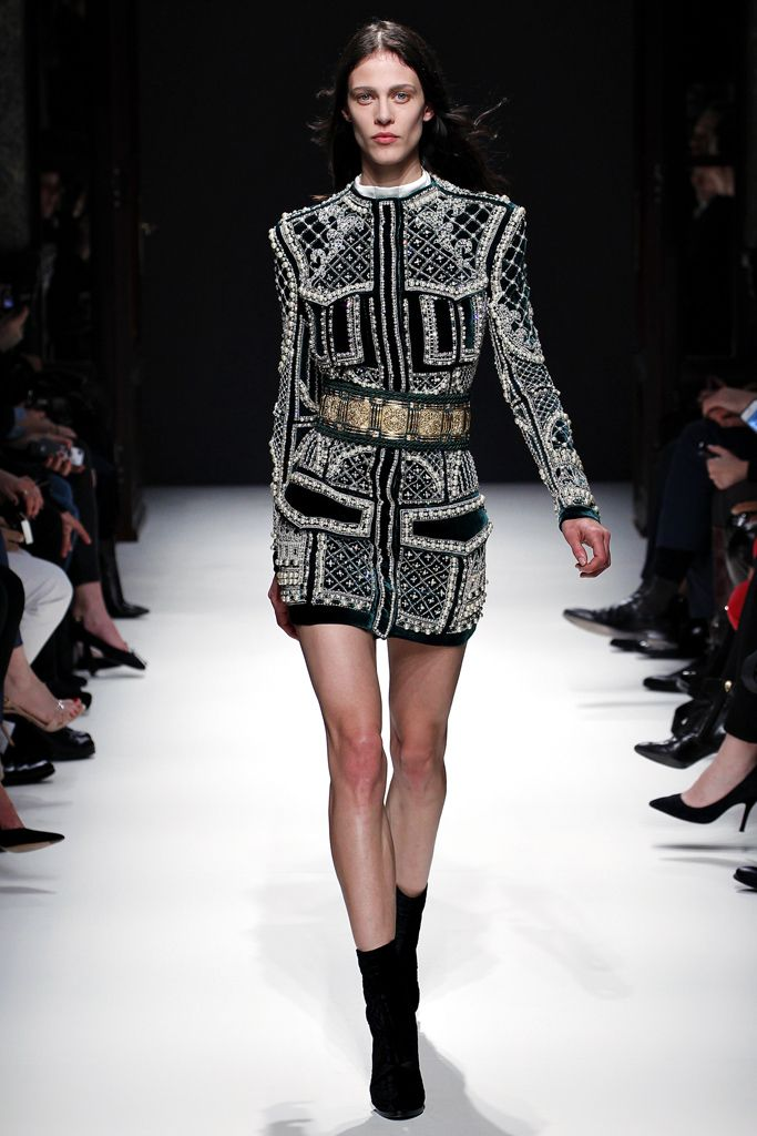 Balmain | Fall 2012 Ready-to-Wear Collection | Style.com