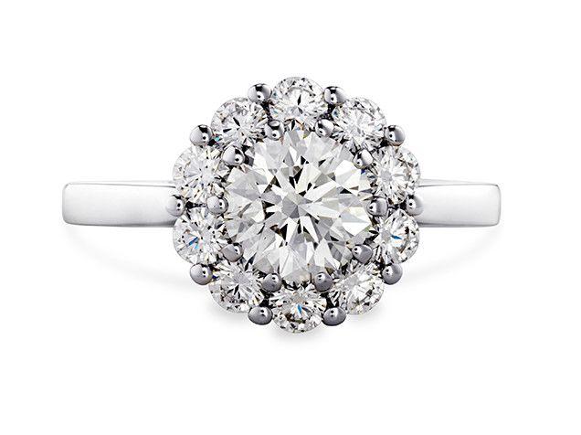Amazing  ct Fancy Brown Cushion Cut Diamond Engagement Ring k White Gold Engagement Rings