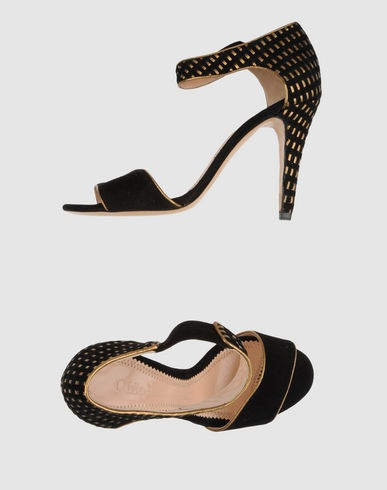 Love the pattern.: High Heels Sandals, Online Selection, Chloé Women, Chloé Online, Chloé High Heels, Exclusively Items, Sweet Sole, Sandals Chloé, Consoles Prizes