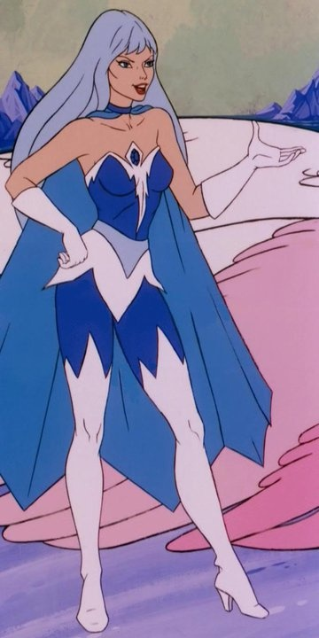 """Frosta- """"She-Ra: Princess of Power."""" Always played Frosta when we played She-Ra on the playground!"""
