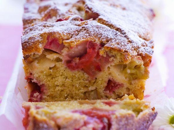Rabarbercake - Libelle Lekker!