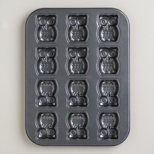 owl cakelet pan