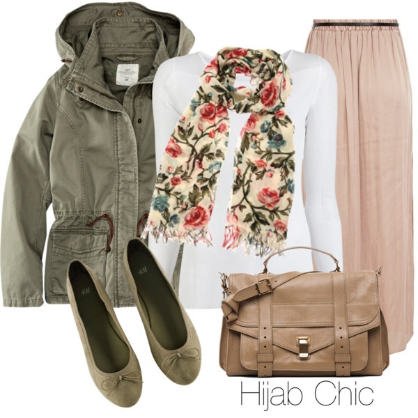 """Hijab Chic Outfit #1"" by fashion4arab on Polyvore"