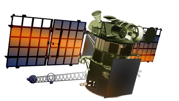 Deep Space Climate Observatory - http://www.nesdis.noaa.gov/DSCOVR/