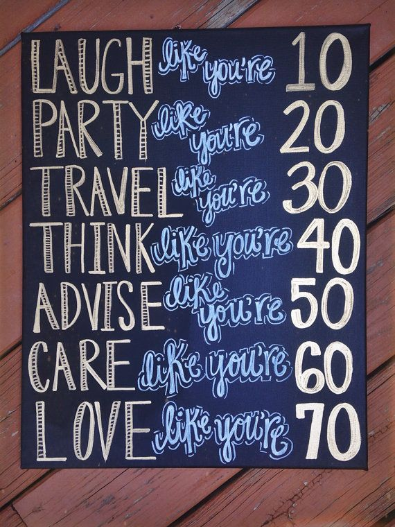 Inspirational Handpainted quote canvas! on Etsy, $25.00