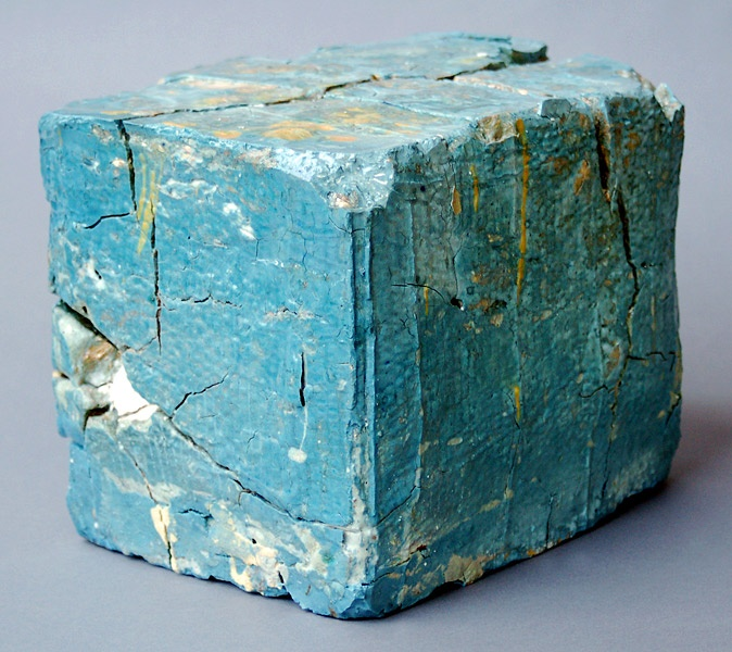 """Jonathan Mess Landfill No.19,2008. Various clays, glazes and stains, 80% recycled; 10"""" x 12"""" x 9.5"""""""